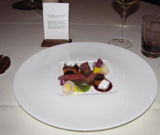 Restaurant Haerlin: pigeon breast