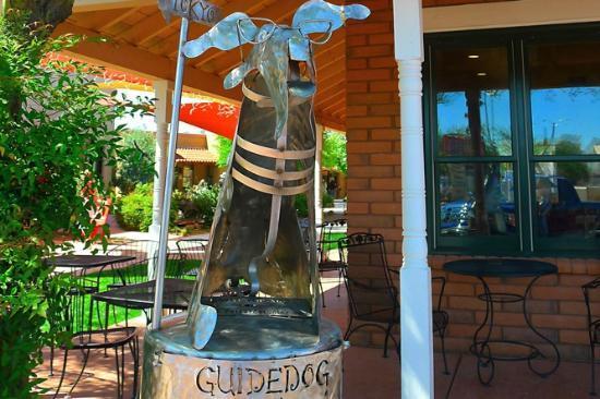 Tubac Deli & Coffie Co: Tubac Guide Dog