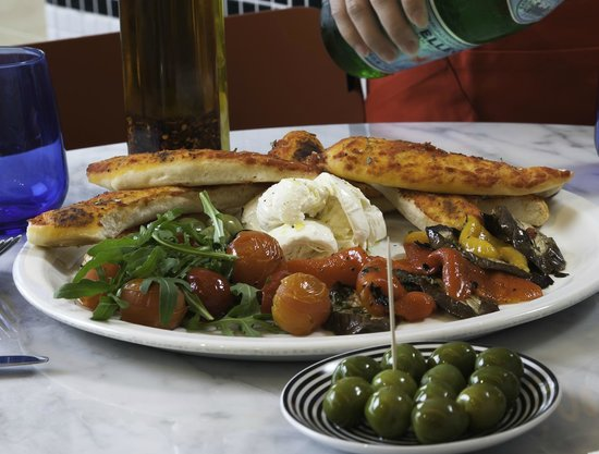 Pizza Express Quarry Bay: Antipasti Verdure