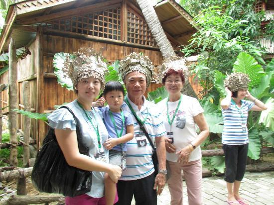 Sanya Li and Miao Village: All Miao men needs to learn the skill to make such crown in preparation for their future wife.
