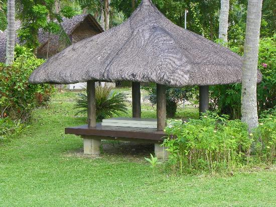 Oceana Beach Resort : Cabana on grounds