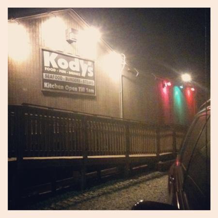 Kody's Restaurant and Bar: Kody's at midnight.