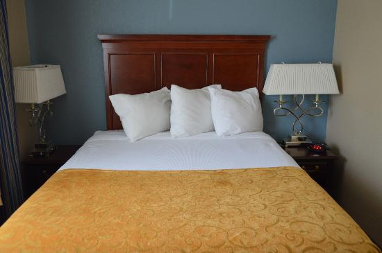 Green Acres Hotel: Comfy bed