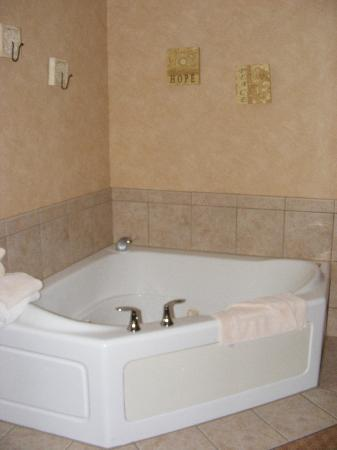 Irish Cottage Boutique Hotel: Spa tub in suite