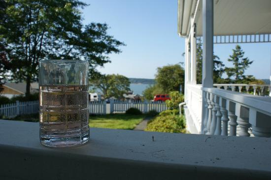 Lovejoy Inn on Whidbey Island: View from the verandah