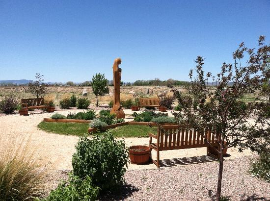 San Luis, CO: Mother Mary's Garden