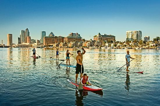 Urban Kai Stand-Up Paddleboarding: Paddling Downtown Tampa