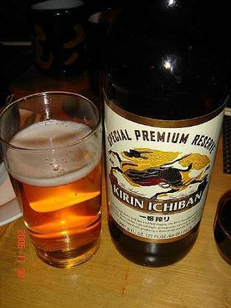 Hiro Sushi: Kirin Ichiban ~ very refreshing
