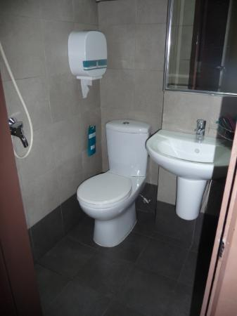 Hotel 81 Balestier: toilet and shower