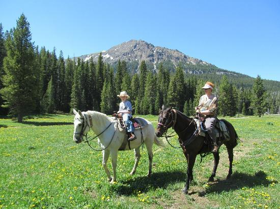Skyline Guest Ranch and Guide Service: Scenic trail ride