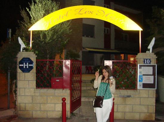 Hotel Les Myrtes: Entrada del hotel