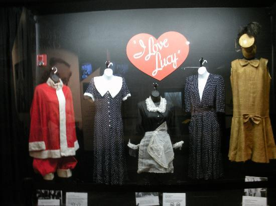 "Jamestown, NY: Some of the costumes/clothes Lucille Ball wore in ""I Love Lucy"""