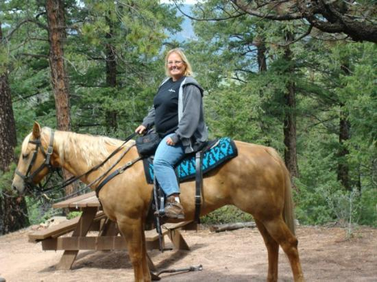 Triple B Ranch: me on my favorite horse