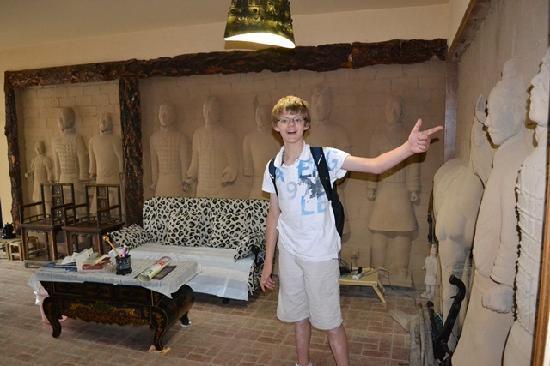 Warriors Apartment: Living Room