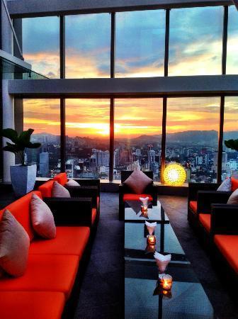 Sunset View Picture Of Marini S On 57 Kuala Lumpur