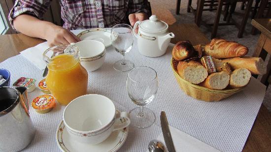 St. Pierre : Het ontbijt