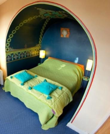 Maison du Sart Chambres d Hotes : Chambre Arabesque - Maison du Sart - Lille