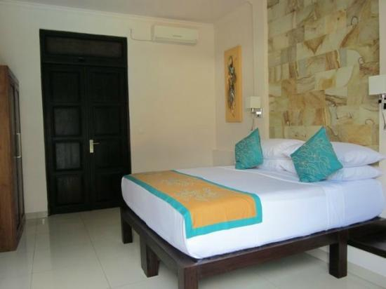 Villa Teman: One of the beautifully appointed bedrooms