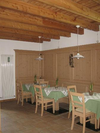 Maso Pra Cavai: Dining room