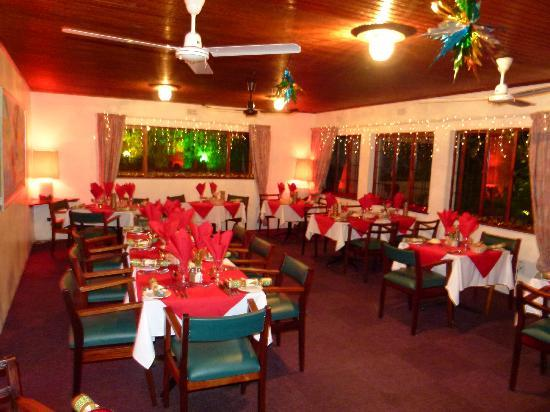 Karula Hotel: Christmas theme in Restaurant