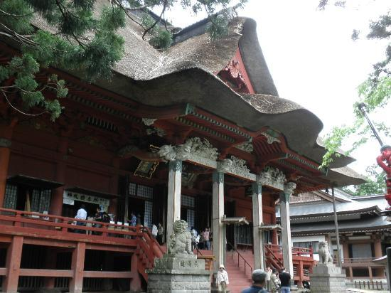 Tsuruoka, Japan: 三神合際殿