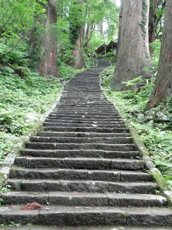Tsuruoka, Japan: 石段