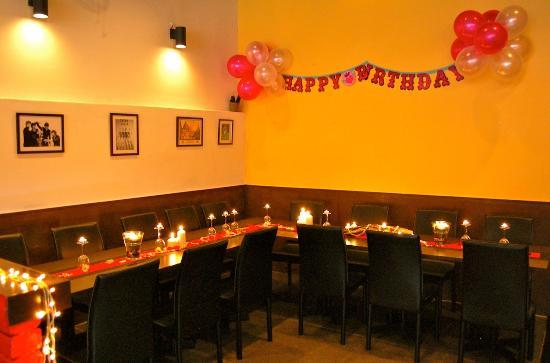 Custom Birthday Party Decorations Picture of MacLarens Restaurant