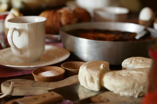 Residenza San Vito: La colazione_dolce e salata
