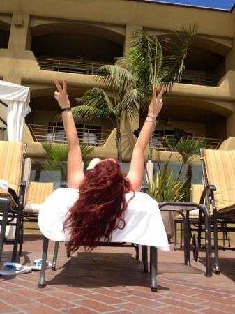 Pacific Terrace Hotel: amor y paz ;)