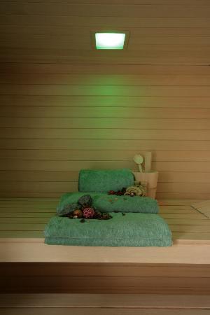 Residenza San Vito: L'angolo del benessere: sauna con cromoterapia