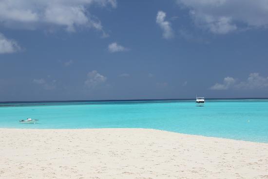 Club Med Columbus Isle : mare e la spiaggia antistante il villaggio
