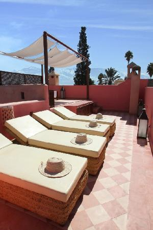 Riad Cherrata: 2ème et 3ème Terrasse