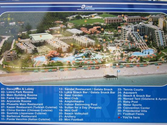 Algemeen plan Picture of Limak Limra Hotel Resort Kemer