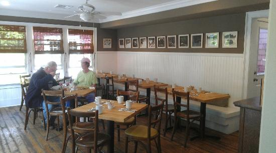 The Red Store: Interior Dining Room