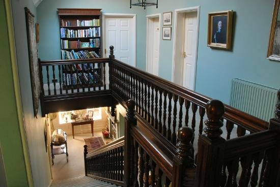 the old vicarage: Landing and stairs