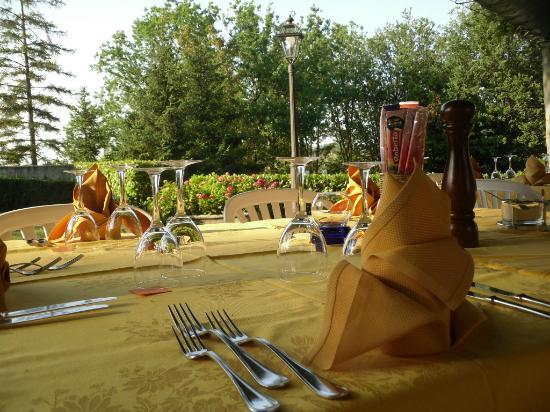 Park Hotel Fantoni: Cena all'aperto