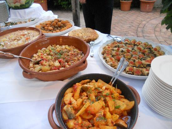 Agriturismo La Casa Del Ghiro: Cucina mediterranea