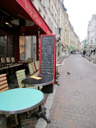 TournBride : Early morning walk up Rue Mouffetard