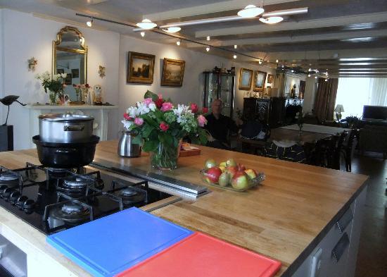 Hotel Keizershof: Küche