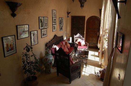 Riad Anabel: Communal area