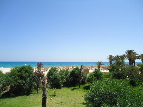 Hotel Palace Hammamet Marhaba : Vista desde la habitacion tipo bungalow