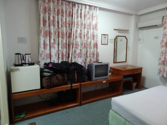 Greenland Inn: another view, second floor, corner room
