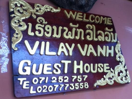 Vilayvang Guest House: Welcome!