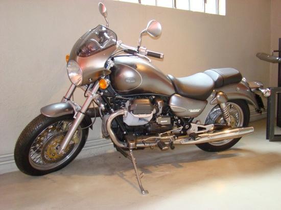 Mandello del Lario, Italia: Moto Guzzi Museum