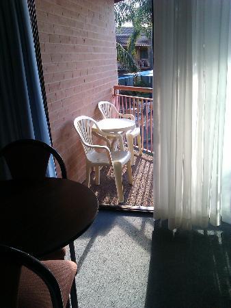 Charbonnier Motor Inn SIngleton: balcony