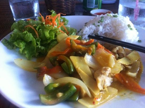 The Rooftop Lounge: Thai Style Chicken