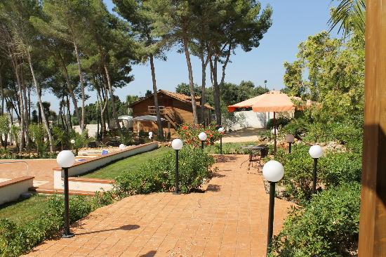 Villa Rosemary Hill's: giardino
