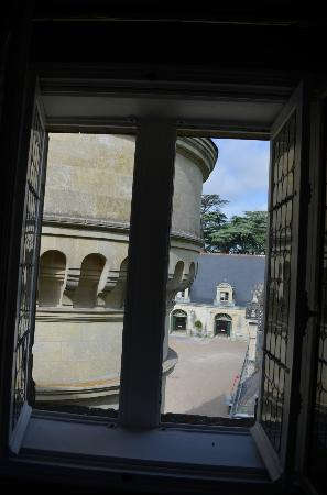 Chateau de la Bourdaisiere: View from second bedroom