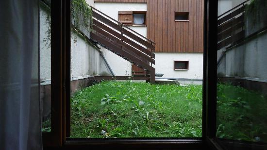 Hotel Alpen Roc: Vue de la chambre