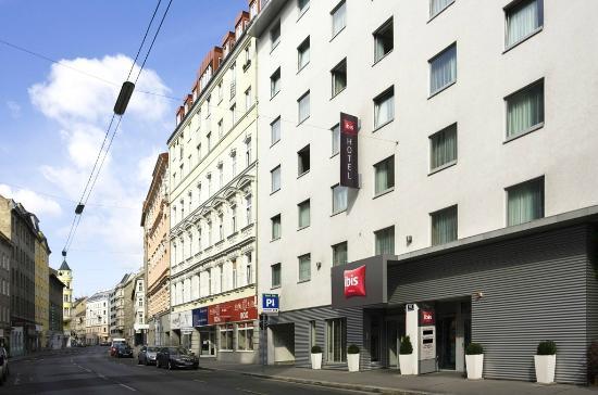 Außenansicht ibis Wien City